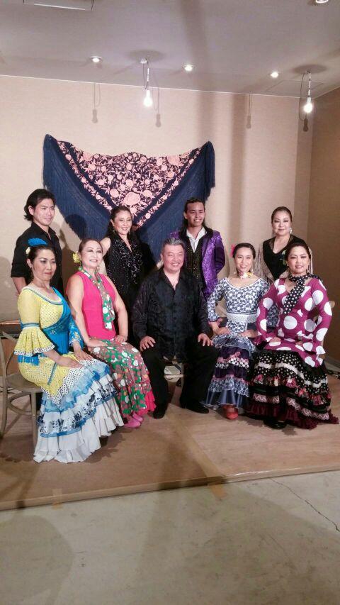 Viva Flamencoライブ大成功