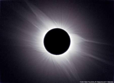 皆既日食パワー